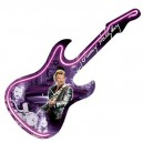 Guitare Néon Horloge Johnny Haliday