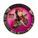 Plaque ronde Betty Boop