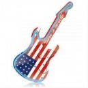 Guitare Horloge néon US