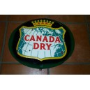PLAQUE EMAILLEE CANADA DRY