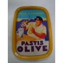 Plateau Pastis Olive